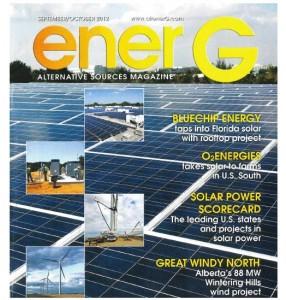 BlueChip Energy in enerG magazine